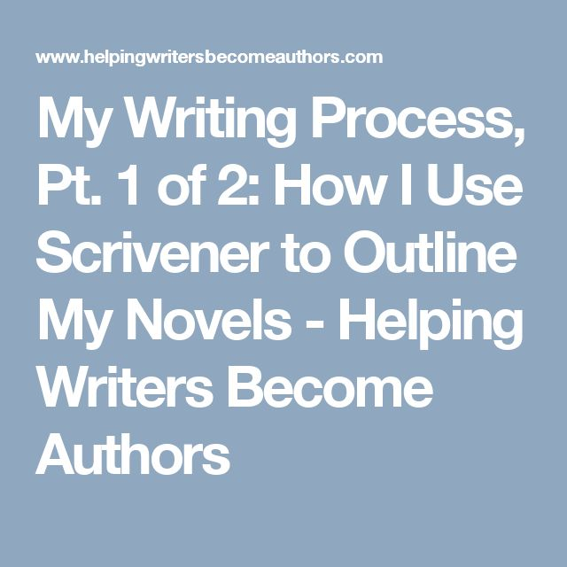 novel writing process Writing a novel can be daunting but introducing structure to the process can help you maintain momentum over the course of a month without hampering creativity.