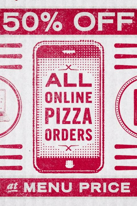 Get 50% off all Domino's menu-priced pizzas when you order online through 12/7/17. #pizzaparty #dinnernight #pizzadeals