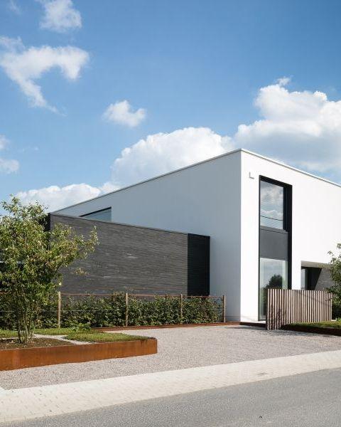 205 best images about nieuwbouw modern on pinterest - Foto moderne villa ...