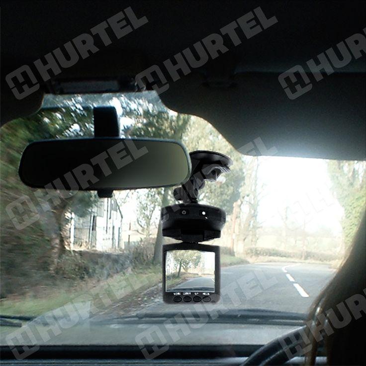 Kamera samochodowa HD wideo rejestrator jazdy trasy