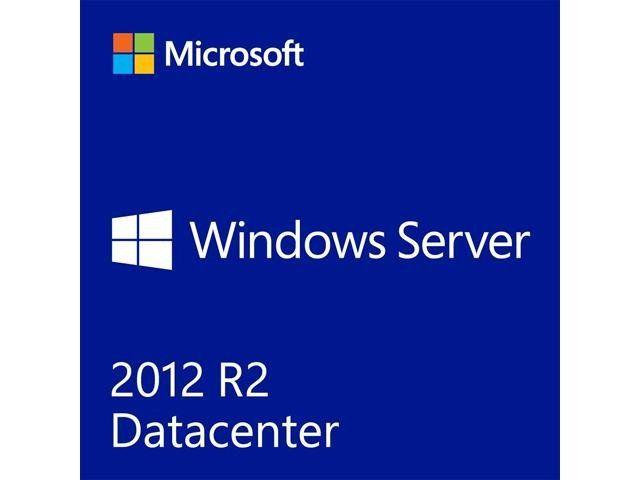 Microsoft Windows Server 2012 R.2 Datacenter 64-bit - License and Media - 2 Processor