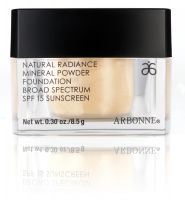 Totally in love with Arbonne Mineral Powder Foundation.