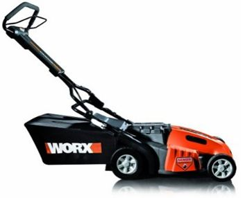 WORX WG788 19-Inch Cordless 3-In-1 Lawn Mower deal - Learn more here: http://lifesabargain.net/worx-wg788-19-inch-cordless-3-in-1-lawn-mower/
