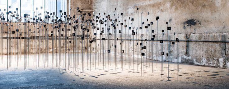 schunck + dölker explore time through a giant array of quartz clock movements