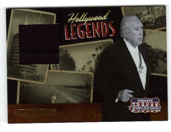 2008 americana hollywood legends swatch anthony quinn hercules navarone 099/500 from $5.0
