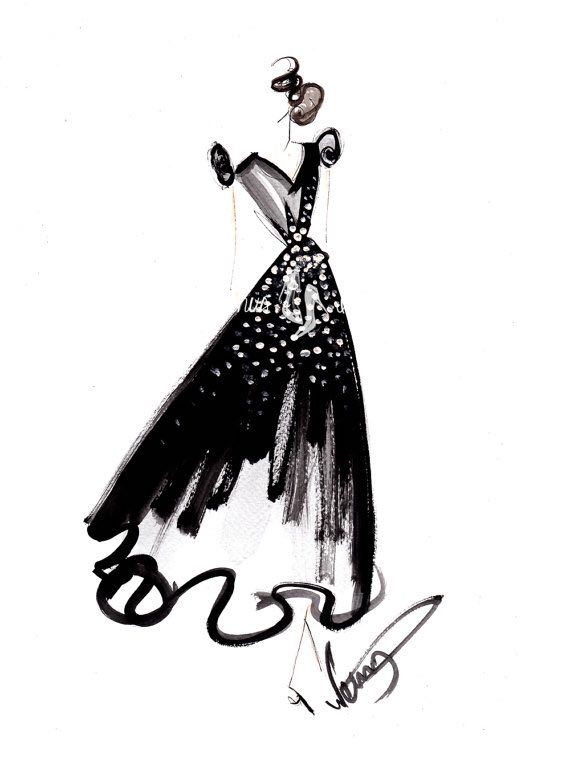 fashion illustration fashion sketch by dorinusillustrations