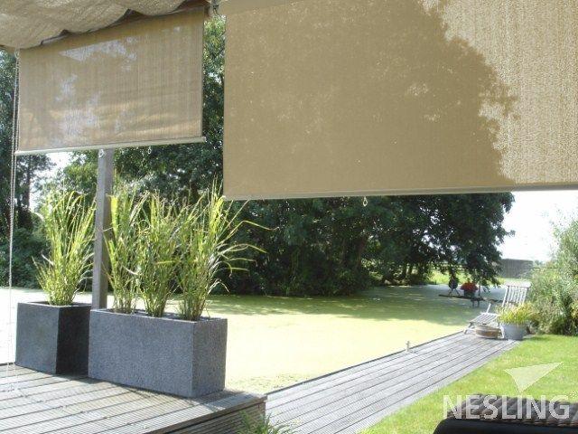 Les 25 meilleures id es de la cat gorie store enrouleur exterieur sur pinterest - Toile pour terras exterieur ...