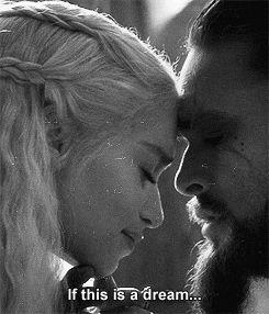 gif 1k game of thrones emilia clarke jason momoa Khal Drogo ...