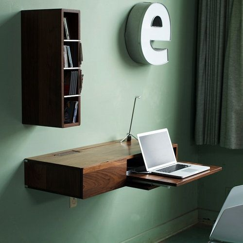 the ledge wall system wall mounted deskwall