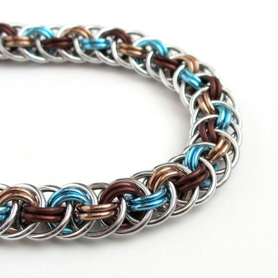 Basket Weave Chainmaille Tutorial : Best images about chainmaille on persian