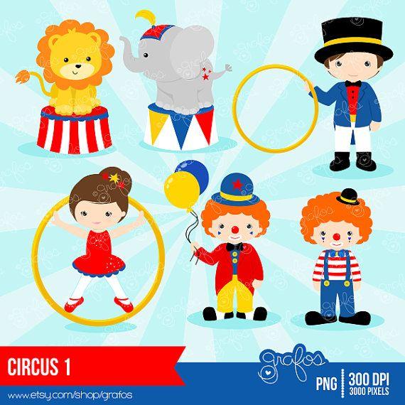 Carnival Clown Clip Art Cute