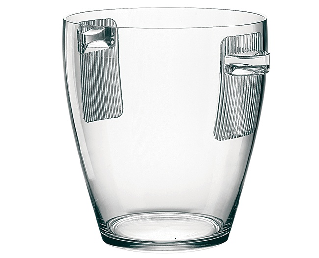 Guzzini Happy Hour Champagne Bucket, Clear