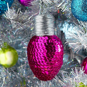 Pretty Pink Ornaments For Christmas