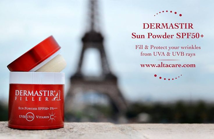 Dermastir Filler Sun Powder SPF 50+ Translucent - sun powder, filler, spf50+, whitening sun powder top face care products. Buy now on altacare.com