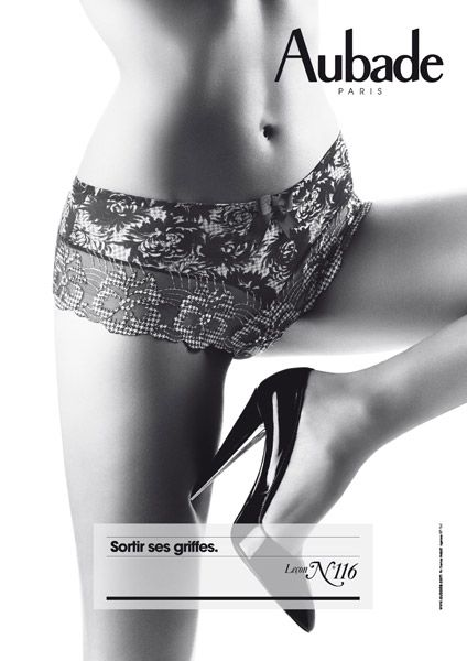 La leçon de Séduction par Aubade #lingerie #aubade #lecondeseduction #lebloglingerie lebloglingerie.com