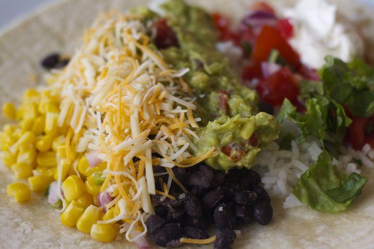 Homemade Chipotle Burrito bowl - recipes for each item - rice beans veggies etc.    Yum!!