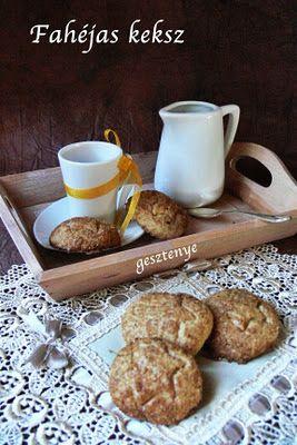 Gesztenye receptjei: Fahéjas keksz