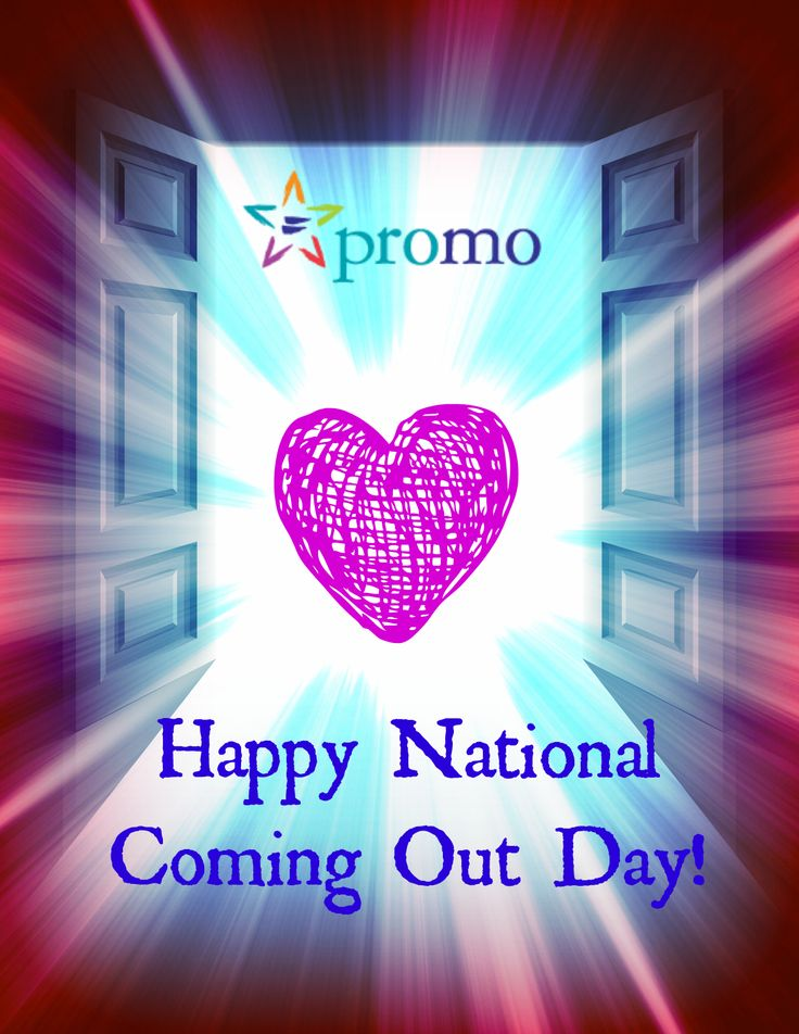 Gay pride national coming out day