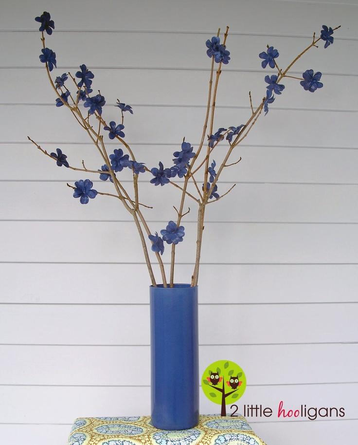 Twig flower arrangement tutorial