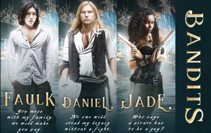Daniel, Faulk, Jade and young Nickel set sail on a heist of a lifetime.