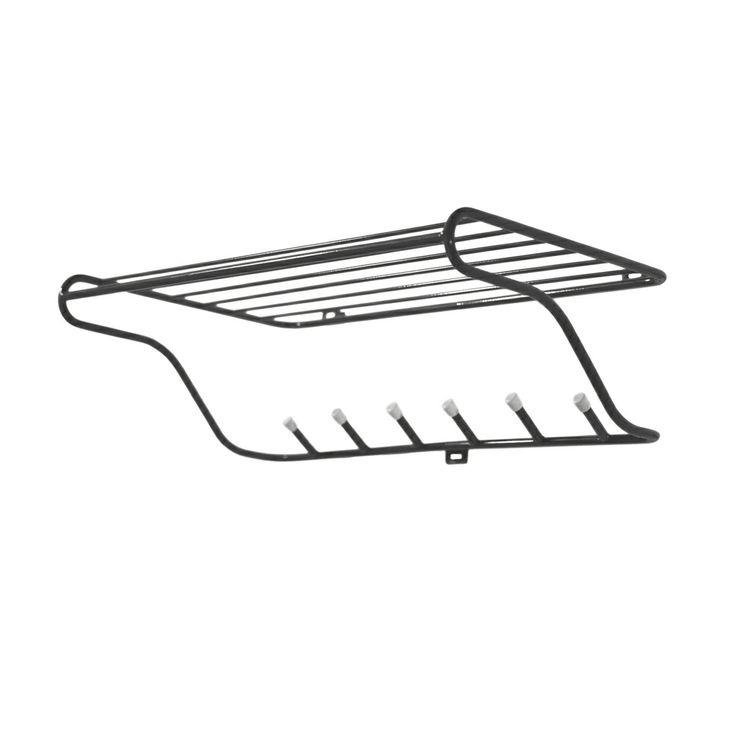 Hat Rack Hatthylla, Svart - Olof Kolte - Maze - RoyalDesign.se