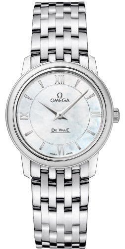 Omega-Deville-Prestige-Quartz-Ladies-Watch-42410276005001 #omega #womensstyle #womensfashion #womenswatch