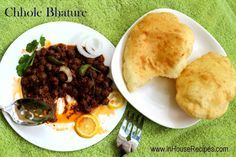 Punjabi Chole Bhature recipe with Delhi Paharganj restaurant style authentic black chole. Use tea leaves to make chole black and haldirams taste at home.