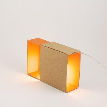Lampe Boite en Carton