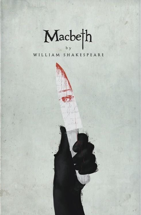 Shakespeare book covers by Chris Hall
