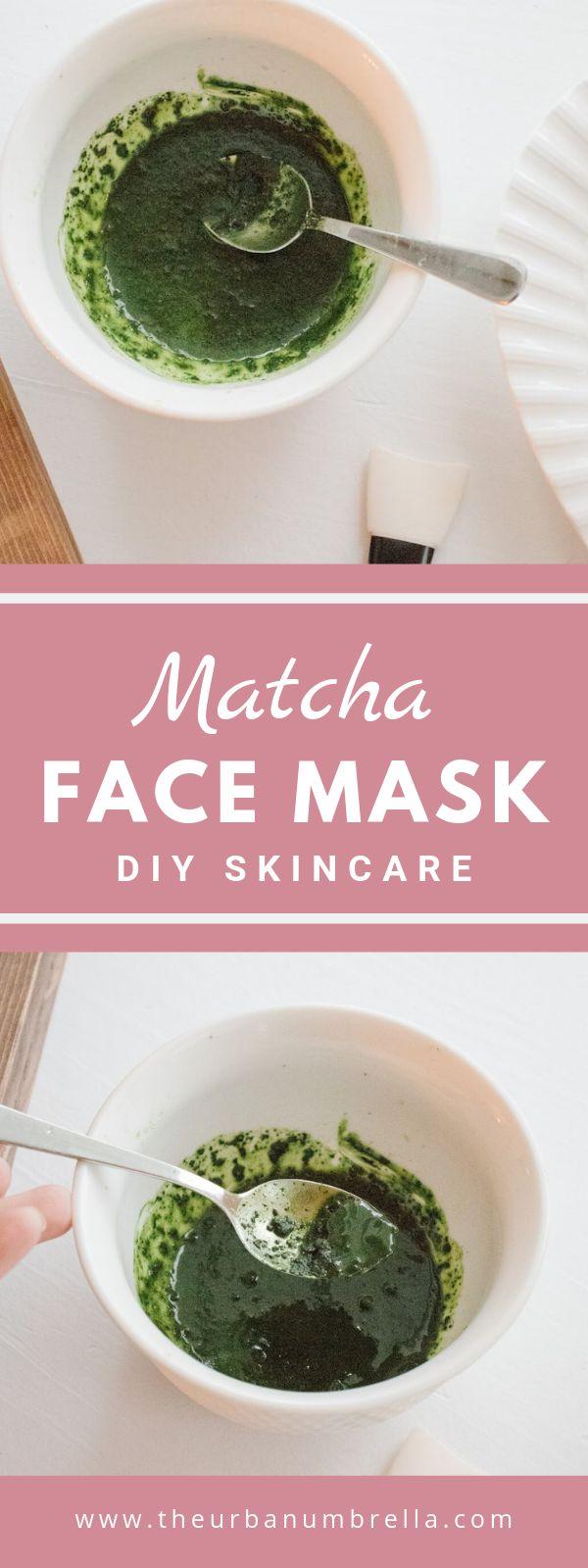 DIY Matcha Gesichtsmaske   – DIY Beauty