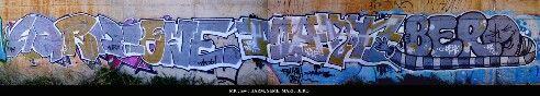#graffiti #piece #burner http:// urbanartbomb.com - graffiti wall