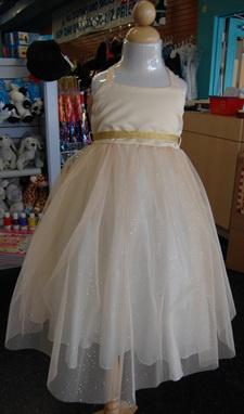 KD264 - Gold Ballerina Cut Dress  78.99