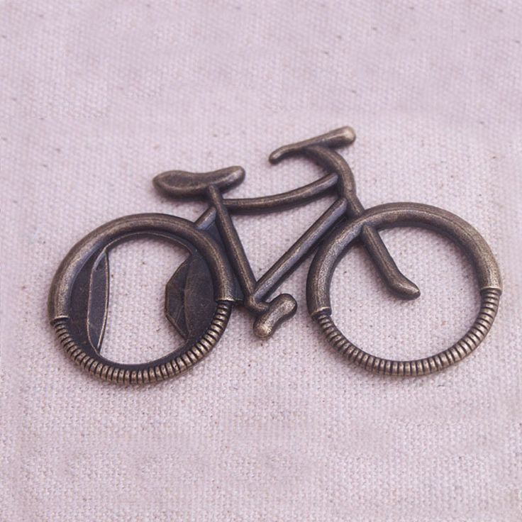100PCS/LOT Vintage Metal Bicycle Bike Shaped Wine Beer Bottle Opener For Cycling Lover Wedding Favor  Party Gift Present ZA1022