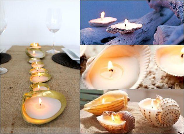 Inspirational: Schelpen in je interieur schelp kaarsen diy – Beautylab.nl