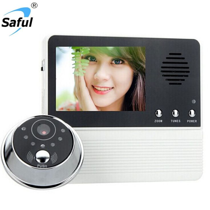 "29.43$  Watch now - http://alim98.shopchina.info/go.php?t=32802918861 - "" SAFUL 2.8"""" TFT LCD Screen Digital Eye Viewer Video Camera Door Phone Doorphone Monitor Speaker intercom Home Security Doorbell"" 29.43$ #buyininternet"