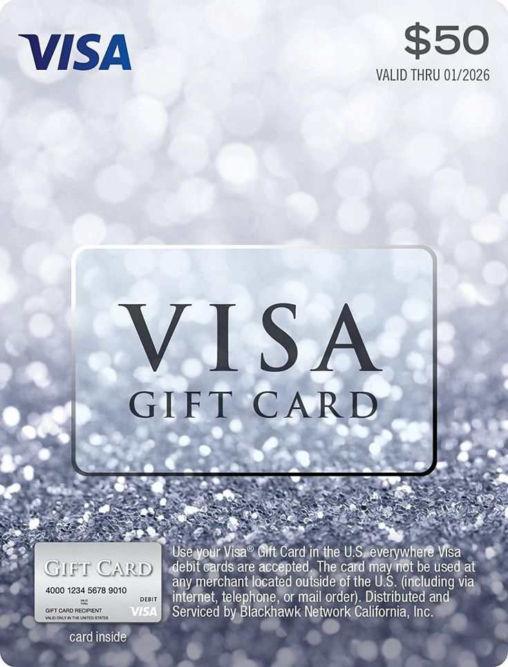 Find a big list of stores which sell visa gift cards