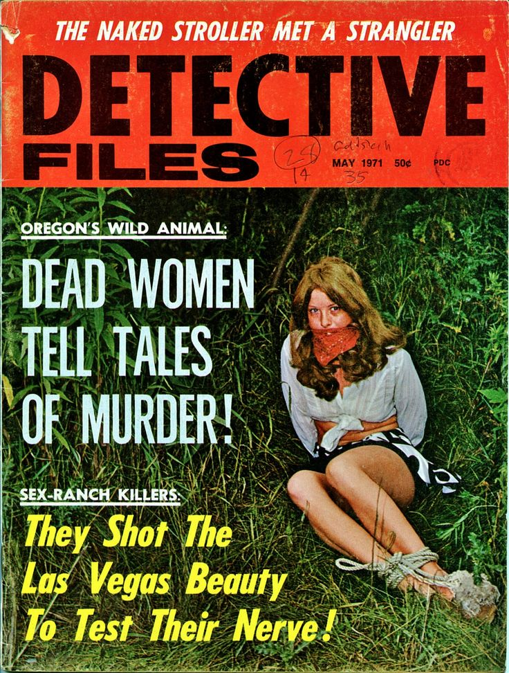 122 best detective magazines 60 s 80 s images on