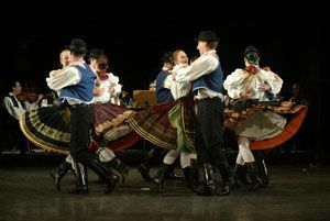 Find out more about Hungary's rich culture by visiting some of the unique Hungarian folk dance and other programs in Budapest.