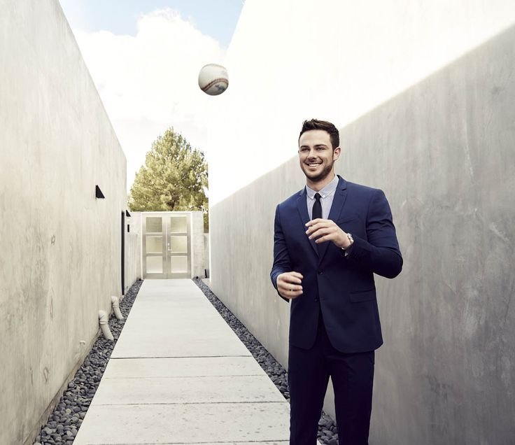 5 Men S Fashion Tips From Chicago Cubs Star Kris Bryant Men 39 S Urban Fashion Pinterest