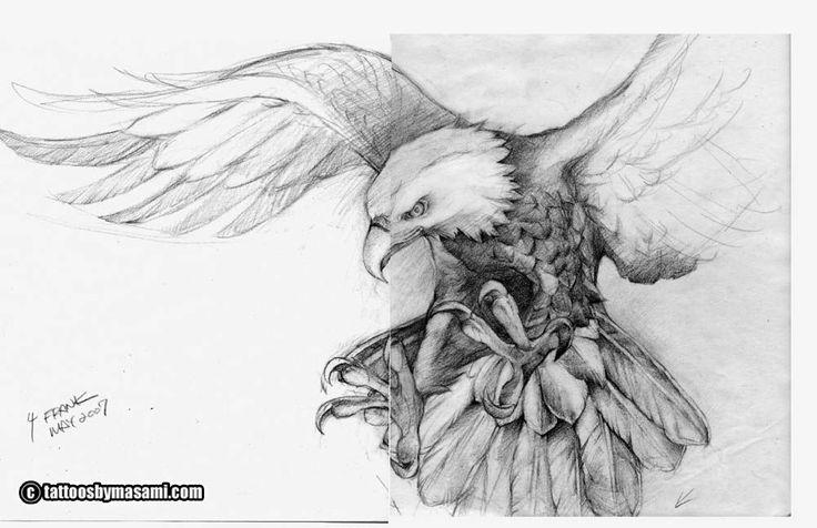 Meu pai me pediu pra fazer uma águia real (aquelas americanas negras com a cabeça e a calda brancas) pousando em um tronco. Comecei a fazer ...