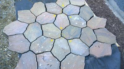 Stepping Stone Patio Ideas