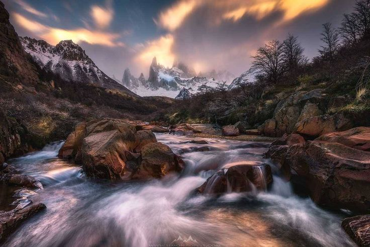 "travel-in-pictures: ""El Chaltén, Santa Cruz Province, Argentina by Simon Roppel from Switzerland Source 