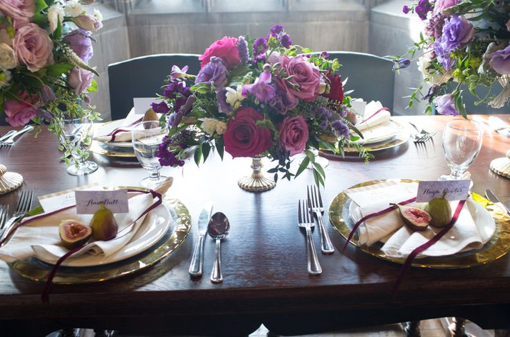 Hart House style shoot, stunning floral design and fine linens provided by Covers Couture