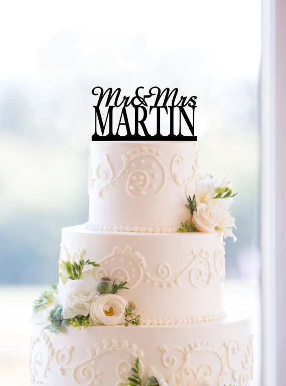 Customized Wedding Cake Topper By Chicago Factory