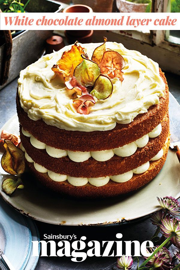 This beautiful cake would make a showstopping centrepiece for Easter