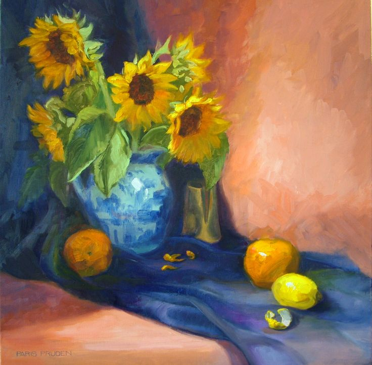 Sunflowers And Oranges