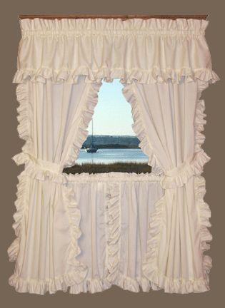 cape cod ruffled curtains