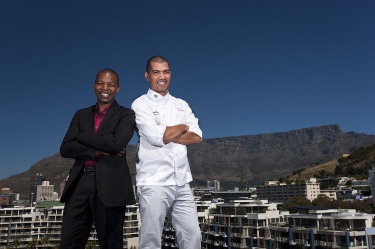 One&Only Cape Town - Reuben's WIne&Dine 2016 - Luvo Ntezo & Reuben Riffel