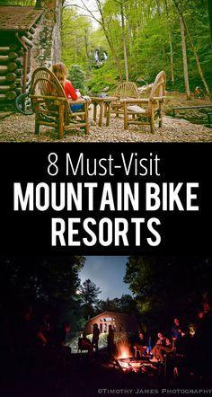 8 Must-Visit Mountain Bike Resorts; Texas, Georgia, North Carolina, Colorado, Montana, Arizona