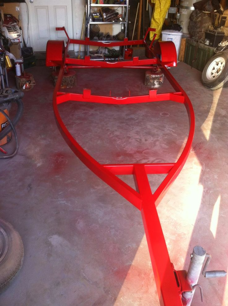 Boat Trailer overhaul! Check out the whole restoration on this site!